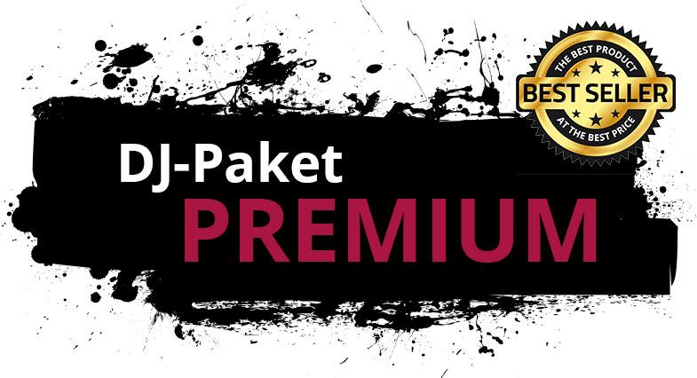 """Zu sehen ist hier die Leistungsübersicht des DJ-Paketes """" PREMIUM"""" von DJ Markus Engels."""