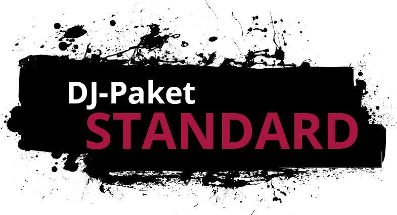 """Zu sehen ist hier die Leistungsübersicht des DJ-Paketes """" STANDARD"""" von DJ Markus Engels."""