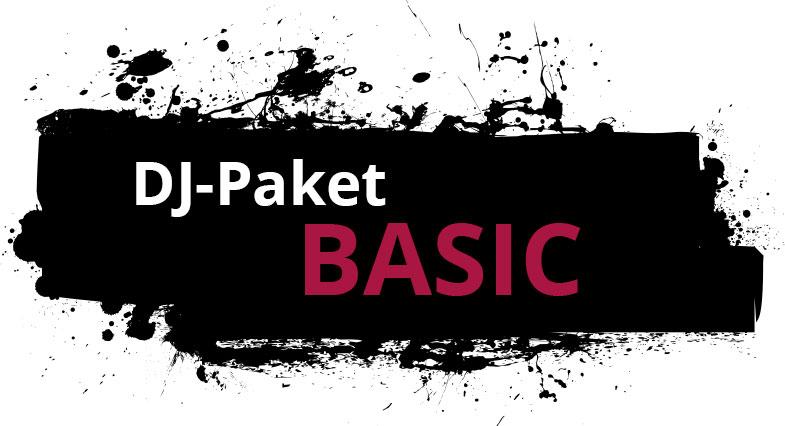 """Zu sehen ist hier die Leistungsübersicht des DJ-Paketes """" BASIC"""" der Engels Eventagentur."""