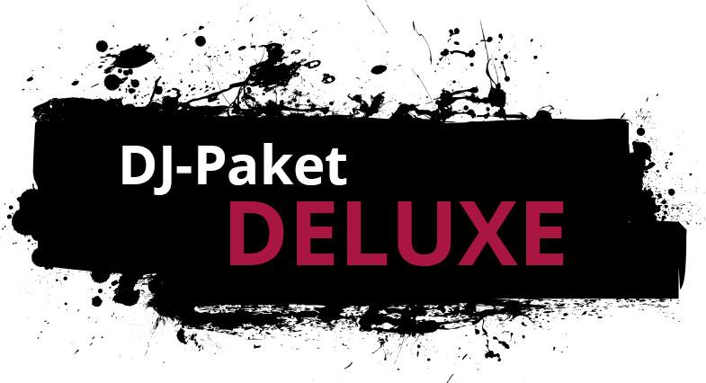 """Zu sehen ist hier die Leistungsübersicht des DJ-Paketes """" DELUXE"""" der Engels Eventagentur."""