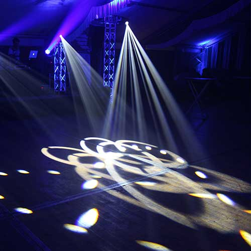 Als Bild für die Movingheads, ist unter der Kategorie Extras eine Veranstaltung zu sehen, wo die Movingheads im Einsatz sind.