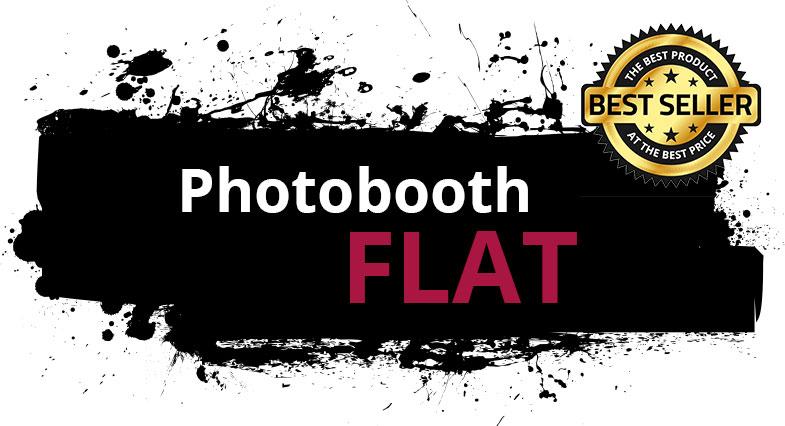 """Zu sehen ist hier die Leistungsübersicht des Photobooth Paket """"FLAT"""" der Engels Eventagentur."""