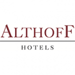 Als Logo der Referenzen bei Althoff Hotels, ist ein zweifarbiges Logo zu sehen.