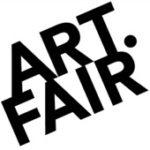 Als Logo der Referenzen bei Art.Fair, ist ein zweifarbiges Logo zu sehen.