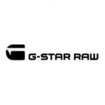 Als Logo der Referenzen bei G-Star Raw, ist ein einfarbiges Logo zu sehen.