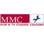 Als Logo der Referenzen bei MMC Studios, ist ein zweifarbiges Logo zu sehen.