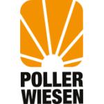 Als Logo der Referenzen bei PollerWiesen, ist ein zweifarbiges Logo zu sehen.