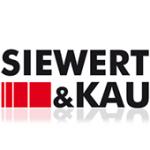 Als Logo der Referenzen bei Siewert-Kau, ist ein zweifarbiges Logo zu sehen.