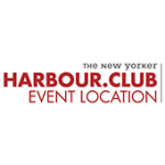 Als Logo der Referenzen bei The New Yorker - HARBOUR.CLUB, ist ein dreifarbiges Logo zu sehen.